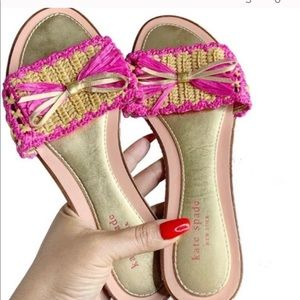 Kate spade sandals nearly new